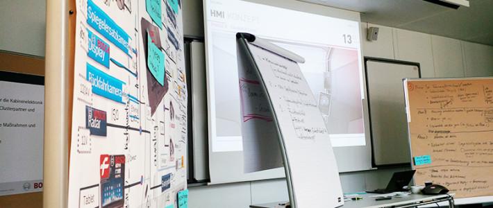 Die Steuerung und Elektronik der Genius CAB entsteht
