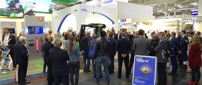 CAB Concept Cluster Pressekonferenz auf der Agritechnica